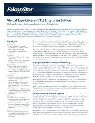 Virtual Tape Library (VTL) Enterprise Edition - Sunstar Company