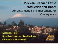 Mexican Beef and Cattle Production and Trade: - Farm Foundation