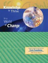 2004 Farm Foundation Annual Report