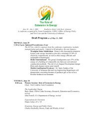 A conference organized by Farm Foundation, USDA's Office of ...
