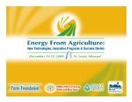 Presentation - Farm Foundation
