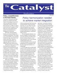 May 2005 Catalyst.pmd - Farm Foundation