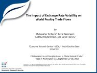 Impacts of Exchange Rate Volatility on World ... - Farm Foundation