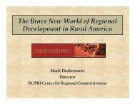 Mark Drabenstott - Farm Foundation