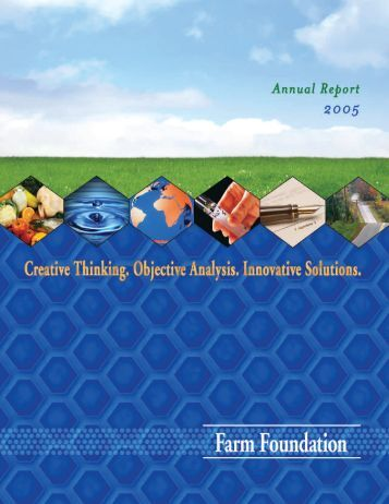 2005 Farm Foundation Annual Report