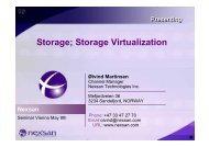 Storage; Storage Virtualization - ASTCO