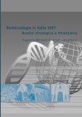 Biotecnologie in Italia 2007 Analisi strategica e - Farmindustria - Page 3