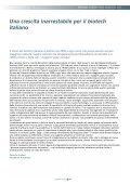 Biotecnologie in Italia 2007 Analisi strategica e - Farmindustria - Page 7