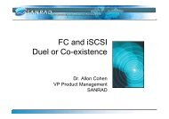 FC and iSCSI Duel or Co-existence