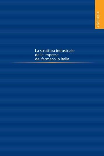 La struttura industriale delle imprese del farmaco in ... - Farmindustria