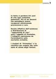 Prometeo: una classifica sullo stato di salute della ... - Farmindustria