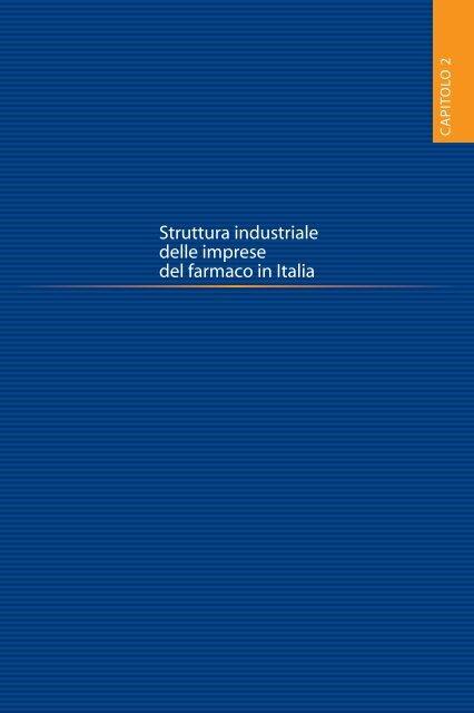 Struttura industriale delle imprese del farmaco in Italia - Farmindustria