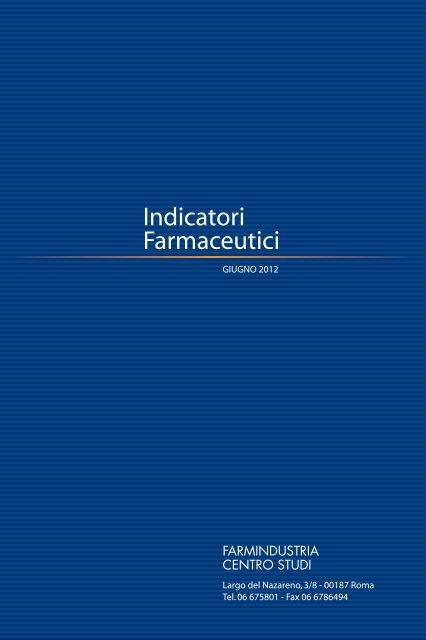 Indicatori Farmaceutici - Farmindustria