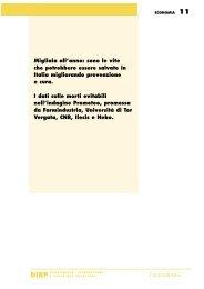 Prometeo 2000 La nuova edizione dell'Osservatorio ... - Farmindustria