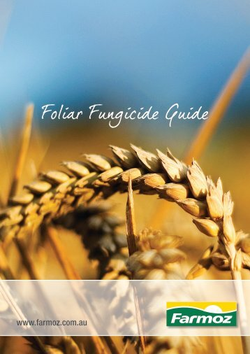 Foliar Fungicide Guide - Farmoz