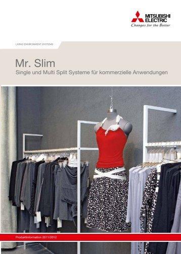 Mr. Slim Klimaanlagen - Frostec Kältetechnik