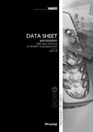 DATA SHEET - Farnell
