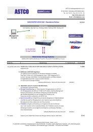 SANCENTER iSCSI SAK - Standalone Edition iSCSI Hosts ...