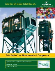 Bulletin: Gold Series for Pharmaceutical Compounds - Camfil APC