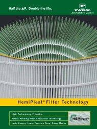 Brochure - HemiPleat Filter Technology - Camfil APC