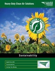 Download Sustainability Brochure (PDF) - Camfil APC