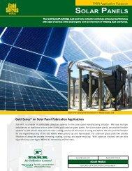 Farr Application Focus on Solar Panel Fabrication - Camfil APC