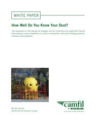 Whitepaper - How well do you know your dust? - Camfil APC
