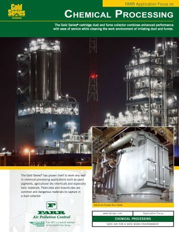 Farr Application Focus on Chemical Processing - Camfil APC