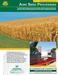 Market Focus Sheet - Seed Processing - Camfil APC