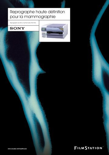 Sony UP-DF750 Brochure - Fas Radiologie