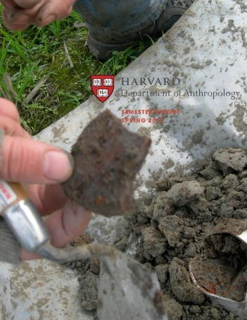 harvard Department of Anthropology - Faculty of Arts and Sciences ...