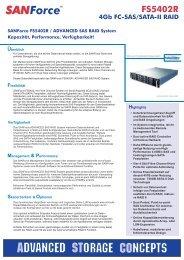 Fibre Channel Storage - ASTCO