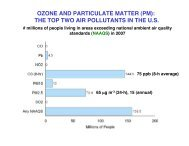 OZONE AND PARTICULATE MATTER (PM): THE TOP TWO AIR ...
