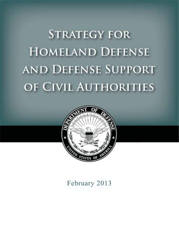 February 2013 - United States Department of Defense