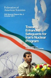 Towards Enhanced Safeguards for Iran's Nuclear Program