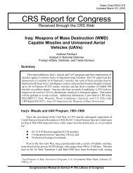 Iraq: Weapons of Mass Destruction (WMD) Capable Missiles and ...