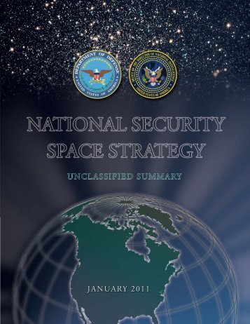 National Security Space Strategy - United States Department of ...