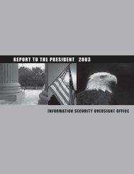 2003 Annual Report - Federation of American Scientists