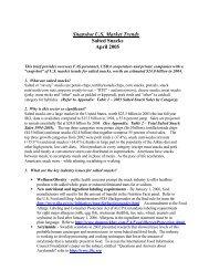 Snapshot U.S. Market Trends Salted Snacks April 2005 - Foreign ...