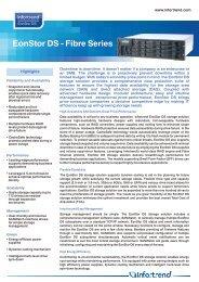 EonStor DS - Fibre Series