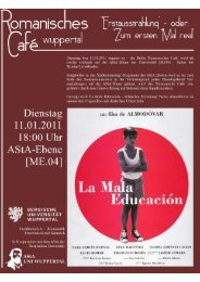 Reader zu 'La Mala Educación' (pdf, 2 9