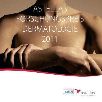 ASTELLAS Forschungspreis Dermatologie 2011