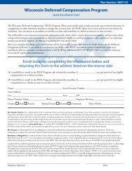 Wisconsin Deferred Compensation Program - FASCore