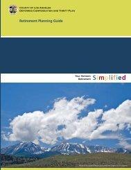 Horizons Retirement Planning Guide - FASCore