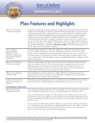 Plan Features and Highlights - FASCore