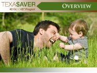 Texa$aver Overview - FASCore
