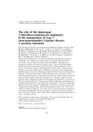 The role of the iminosugar N-butyldeoxynojirimycin (miglustat) in the ...