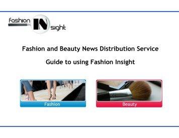 Fashion and Beauty News Distribution Service ... - Fashion Insight