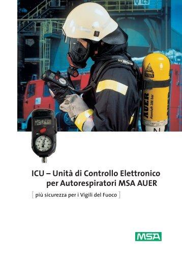 ICU – Unità di Controllo Elettronico per Autorespiratori MSA ... - Fasit