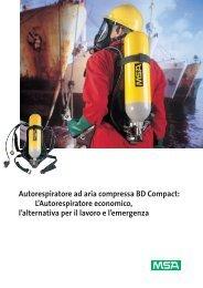 Autorespiratore ad aria compressa BD Compact: L ... - Fasit